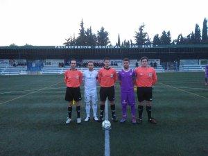 Capitanes y árbitros en el San Blas | CD Villanueva