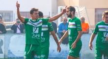 Airam celebra un gol   Atlético Mancha Real