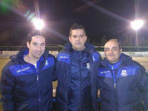 Juan Andrés y su equipo | J. A. González